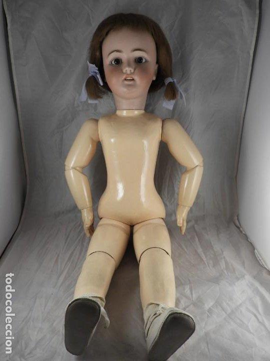 Muñecas Porcelana: MUÑECA SIMON & HALBIG 1078 15 DE 82 CM DE ALTA - Foto 3 - 194349425