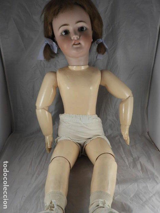 Muñecas Porcelana: MUÑECA SIMON & HALBIG 1078 15 DE 82 CM DE ALTA - Foto 12 - 194349425