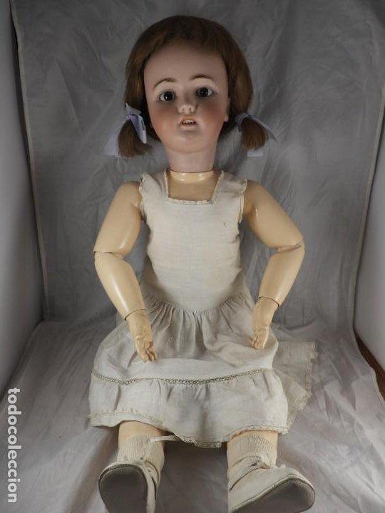 Muñecas Porcelana: MUÑECA SIMON & HALBIG 1078 15 DE 82 CM DE ALTA - Foto 13 - 194349425