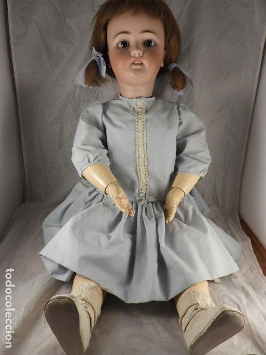 Muñecas Porcelana: MUÑECA SIMON & HALBIG 1078 15 DE 82 CM DE ALTA - Foto 14 - 194349425