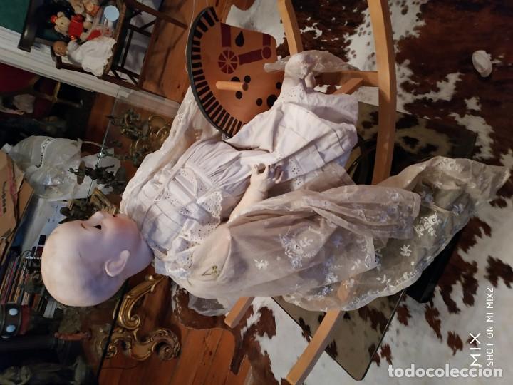 Muñecas Porcelana: FRANZ SCHMIDT CARACTER/ ENORME /A CABALLO /1272/65 ALEMAN - Foto 5 - 194362306