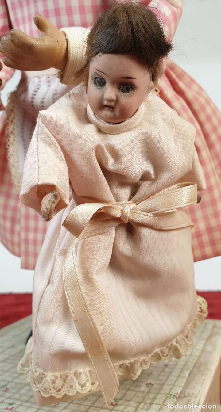 Muñecas Porcelana: MUÑECA AUTÓMATA. CAJA DE MÚSICA. ARMAND MARSEILLE. MADE IN GERMANY. SIGLO XIX-XX - Foto 19 - 169564336