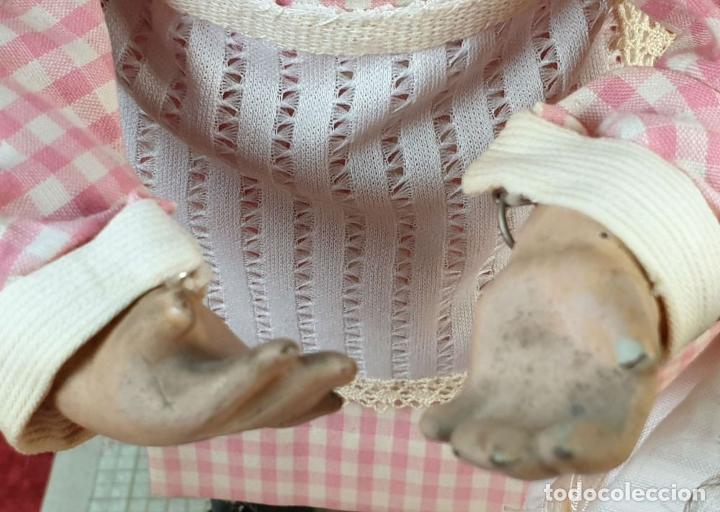 Muñecas Porcelana: MUÑECA AUTÓMATA. CAJA DE MÚSICA. ARMAND MARSEILLE. MADE IN GERMANY. SIGLO XIX-XX - Foto 29 - 169564336