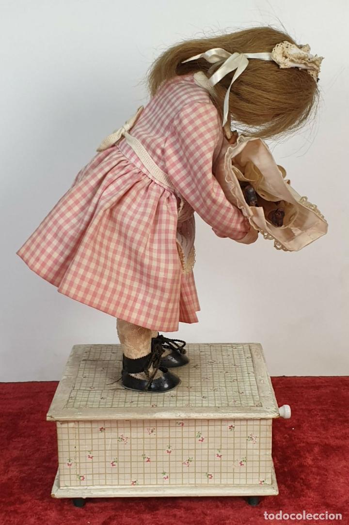Muñecas Porcelana: MUÑECA AUTÓMATA. CAJA DE MÚSICA. ARMAND MARSEILLE. MADE IN GERMANY. SIGLO XIX-XX - Foto 30 - 169564336
