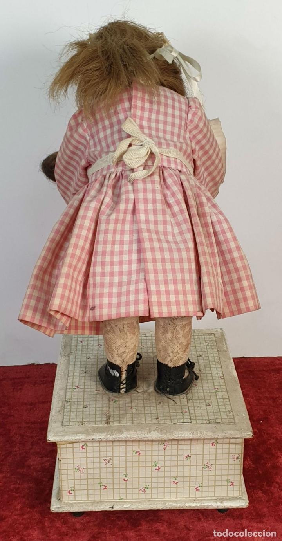 Muñecas Porcelana: MUÑECA AUTÓMATA. CAJA DE MÚSICA. ARMAND MARSEILLE. MADE IN GERMANY. SIGLO XIX-XX - Foto 44 - 169564336