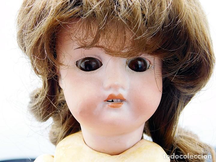 Muñecas Porcelana: C1890 - ANTIGUA MUÑECA ARTICULADA CON PELO NATURAL - MARCAS EN NUCA - ALEMANIA - VER FOTOS - Foto 10 - 194929052