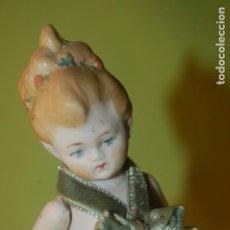 Muñecas Porcelana: MUÑEQUITA ALEMANA LIMBACH. Lote 195413277