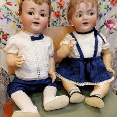 Muñecas Porcelana: SIMON & HALBIG PAREJA PORCELANA. Lote 195756791