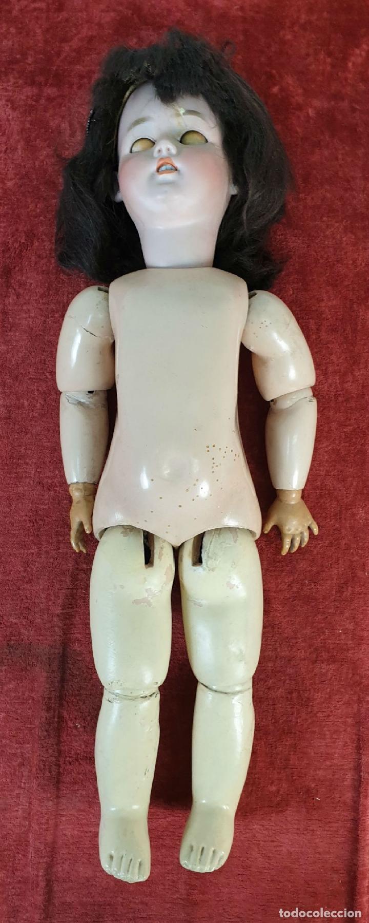 Muñecas Porcelana: MUÑECA. CUERPO DE COMPOSICIÓN. CABEZA DE PORCELANA. S AND CIE. ALEMANIA. SIGLO XX - Foto 3 - 196566098