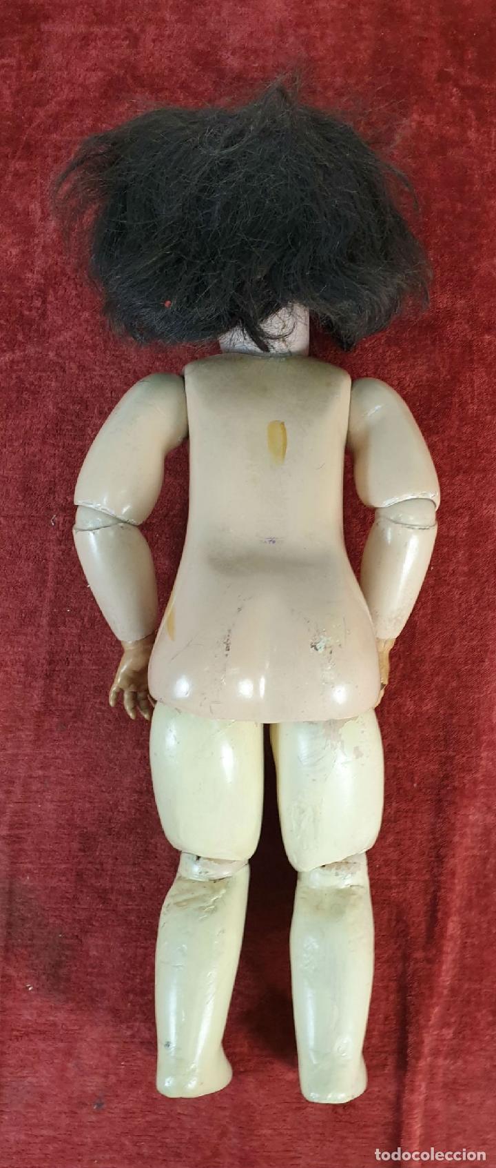 Muñecas Porcelana: MUÑECA. CUERPO DE COMPOSICIÓN. CABEZA DE PORCELANA. S AND CIE. ALEMANIA. SIGLO XX - Foto 9 - 196566098