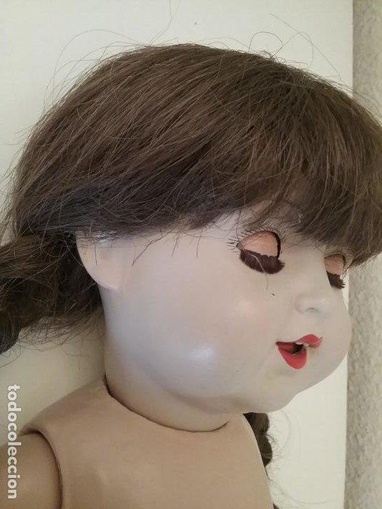 Muñecas Porcelana: MUÑECA ALEMANA MARCADA EN LA NUCA R & W 222 / 9 GERMANY - Foto 5 - 199195217