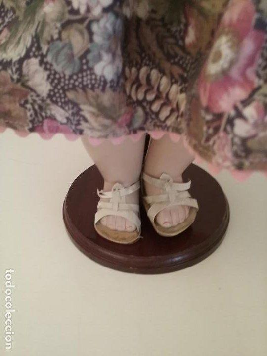 Muñecas Porcelana: MUÑECA ALEMANA MARCADA EN LA NUCA R & W 222 / 9 GERMANY - Foto 10 - 199195217