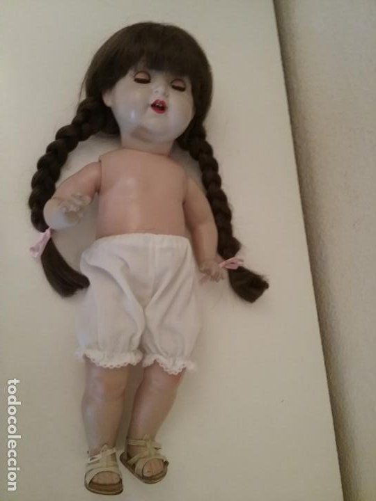 Muñecas Porcelana: MUÑECA ALEMANA MARCADA EN LA NUCA R & W 222 / 9 GERMANY - Foto 12 - 199195217