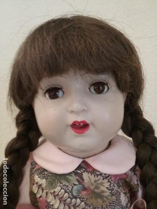 Muñecas Porcelana: MUÑECA ALEMANA MARCADA EN LA NUCA R & W 222 / 9 GERMANY - Foto 14 - 199195217