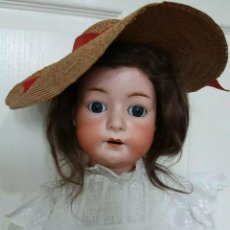 Muñecas Porcelana: MUÑECA HEUBACH-KÖPPELSDORF 312 SUR. 70 CMS. APROX. 1910. ESTADO MUY BUENO.. Lote 199319401