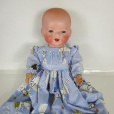 Muñecas Porcelana: BONITO MUÑECO, BEBE - MARCA M.B. GERMANY - SIMON HALBIG - CABEZA PORCELANA BISCUIT. Lote 203270470