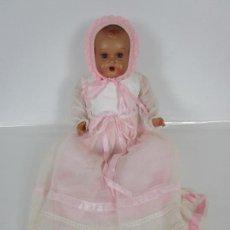 Muñecas Porcelana: PRECIOSO MUÑECO, BEBE - CELULOIDE - SONIDO DE LLANTO - OJOS DURMIENTES - PRINCIPIOS S. XX. Lote 203314498