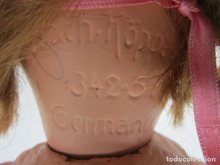 Muñecas Porcelana: Muñeca - Marca Heubach Köppelsdorf 342.5, Germany - Cartón Piedra - Principios S. XX - Foto 18 - 203316187