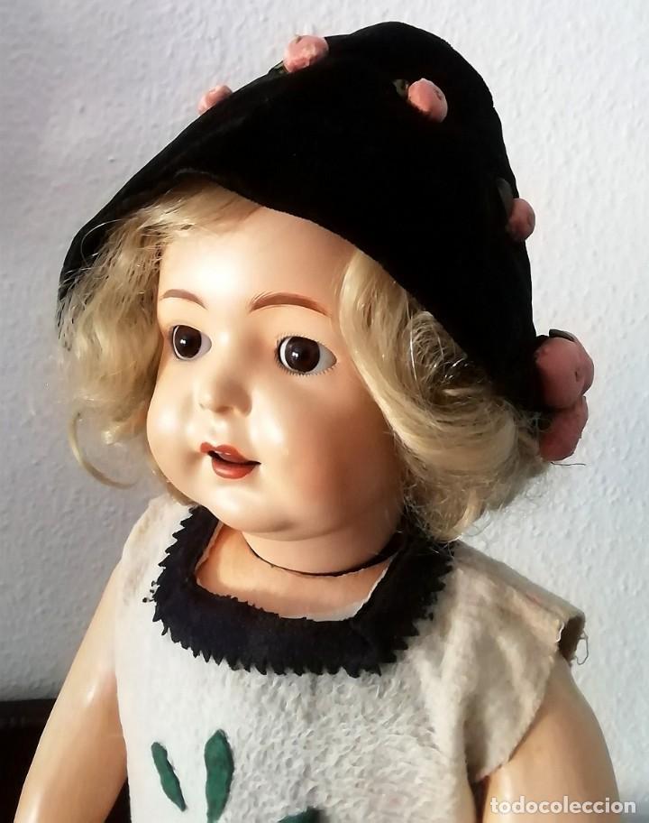 Muñecas Porcelana: MUÑECA ALEMANA ANDADORA (Simon & halbig 126)ROPA ORIGINALES - Foto 2 - 206922448