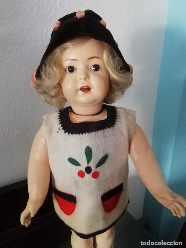 Muñecas Porcelana: MUÑECA ALEMANA ANDADORA (Simon & halbig 126)ROPA ORIGINALES - Foto 6 - 206922448