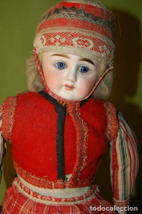 Muñecas Porcelana: muñeca alemana antigua - Foto 2 - 208211188