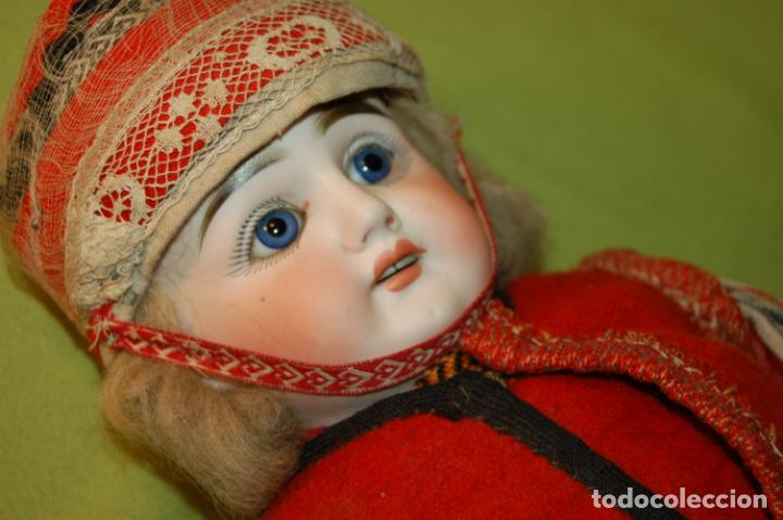 Muñecas Porcelana: muñeca alemana antigua - Foto 3 - 208211188