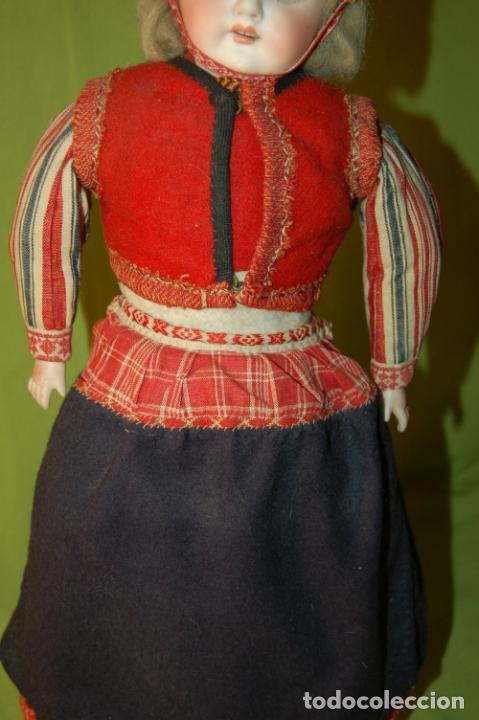 Muñecas Porcelana: muñeca alemana antigua - Foto 8 - 208211188