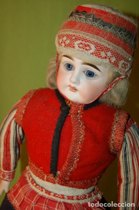 Muñecas Porcelana: muñeca alemana antigua - Foto 11 - 208211188