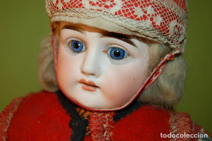Muñecas Porcelana: muñeca alemana antigua - Foto 12 - 208211188