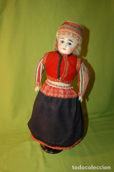 Muñecas Porcelana: muñeca alemana antigua - Foto 13 - 208211188