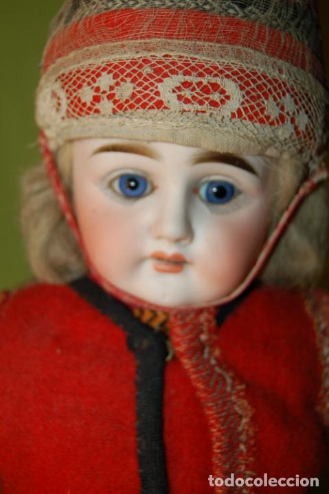 MUÑECA ALEMANA ANTIGUA (Juguetes - Muñeca Extranjera Antigua - Porcelana Alemana)