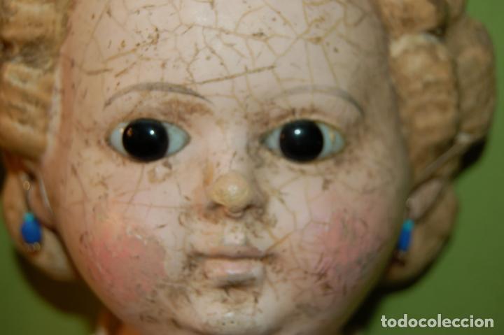 Muñecas Porcelana: antigua muñeca compo -cera de 1830-1860 - Foto 5 - 208218302