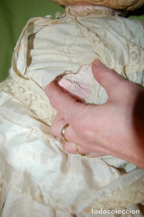 Muñecas Porcelana: antigua muñeca compo -cera de 1830-1860 - Foto 7 - 208218302