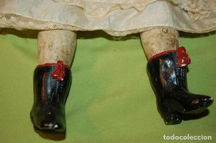 Muñecas Porcelana: antigua muñeca compo -cera de 1830-1860 - Foto 16 - 208218302