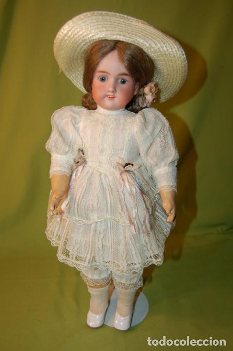 Muñecas Porcelana: muñeca floradora - Foto 5 - 208416583