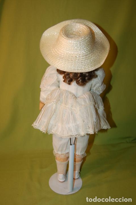 Muñecas Porcelana: muñeca floradora - Foto 7 - 208416583