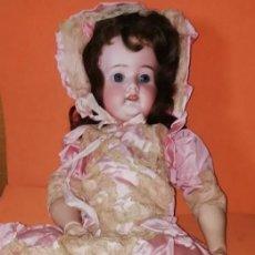 Muñecas Porcelana: ANTIGUA MUÑECA ALEMANA SCHOENAU & HOFFMEISTER 62 CM. EN MUY BUEN ESTADO.. Lote 209322785