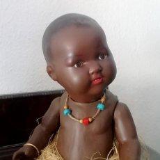 Muñecas Porcelana: IMPRESIONANTE MUÑECO NEGRO BEBÉ, ARMAND MARSEILLE, MARCADO. Lote 209704908