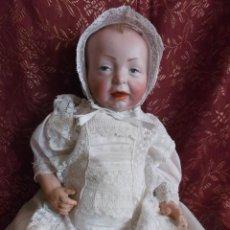 Muñecas Porcelana: ESPECTACULAR BEBÉ KAISER KAMMER & REINHARDT 100, VESTIDO TODO DE ORIGEN. Lote 210420247