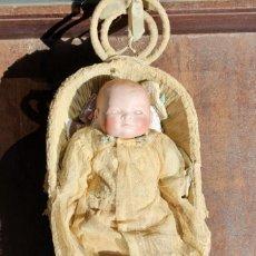 Muñecas Porcelana: MUÑECA DE PORCELANA Y TRAPO MARCA GRACE S. PUTNAM- 29 CM. Lote 210569735