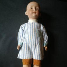 Muñecas Porcelana: MUÑECO DE PORCELANA DE GEBRÜDER HEUBACH, GERMANY. Lote 210612806