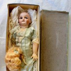 Bonecas Porcelana: MUÑECA SIMON Y HALBIG 1039 DEP ANDADORA OJOS FLIRTING, 36 CM.- CAJA ORIGINAL EDEN -BÉBE- PARIS. Lote 210657187