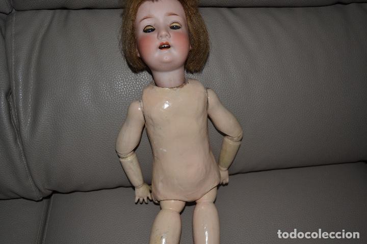 Muñecas Porcelana: ANTIGUA MUÑECA DE PORCELANA HEUBACH KOPPELSDORF 302* 2/o ALEMANIA GERMANY FINALES XIX B.E. - Foto 14 - 210700220