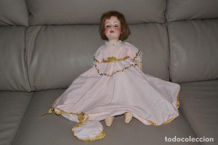 Muñecas Porcelana: ANTIGUA MUÑECA DE PORCELANA HEUBACH KOPPELSDORF 302* 2/o ALEMANIA GERMANY FINALES XIX B.E. - Foto 32 - 210700220