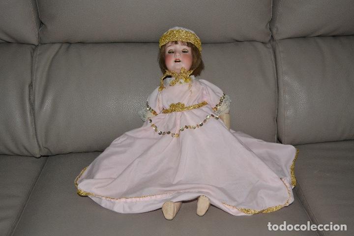 Muñecas Porcelana: ANTIGUA MUÑECA DE PORCELANA HEUBACH KOPPELSDORF 302* 2/o ALEMANIA GERMANY FINALES XIX B.E. - Foto 34 - 210700220