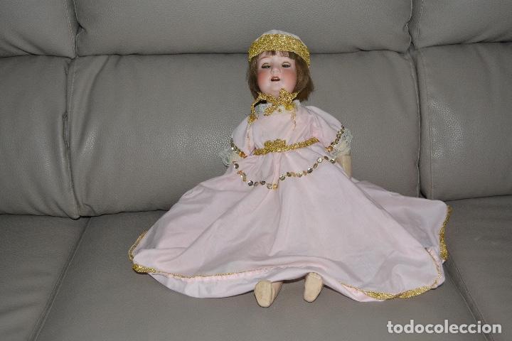 Muñecas Porcelana: ANTIGUA MUÑECA DE PORCELANA HEUBACH KOPPELSDORF 302* 2/o ALEMANIA GERMANY FINALES XIX B.E. - Foto 35 - 210700220