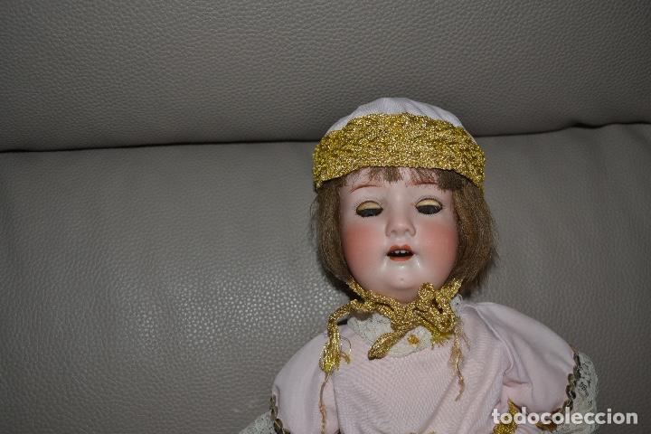 Muñecas Porcelana: ANTIGUA MUÑECA DE PORCELANA HEUBACH KOPPELSDORF 302* 2/o ALEMANIA GERMANY FINALES XIX B.E. - Foto 37 - 210700220