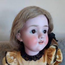 Muñecas Porcelana: MUÑECA ANTIGUA ALEMANA WALKÜRE DE K&H Y KESTNER, 62 CM. Lote 210833745