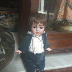 Muñecas Porcelana: ANTIGUO MUÑECO FRANZ SCHMIDT F S & CO GERMANY - CABEZA DE PORCELANA - BISCUIT -. Lote 211996980
