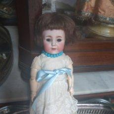 Muñecas Porcelana: ANTIGUA MUÑECA FRANZ SCHMIDT F S & CO GERMANY - CABEZA DE PORCELANA - BISCUIT - LEER DESCRIPCIÓN -. Lote 211998226